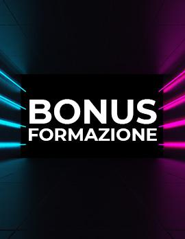 Bonus formazione 2021